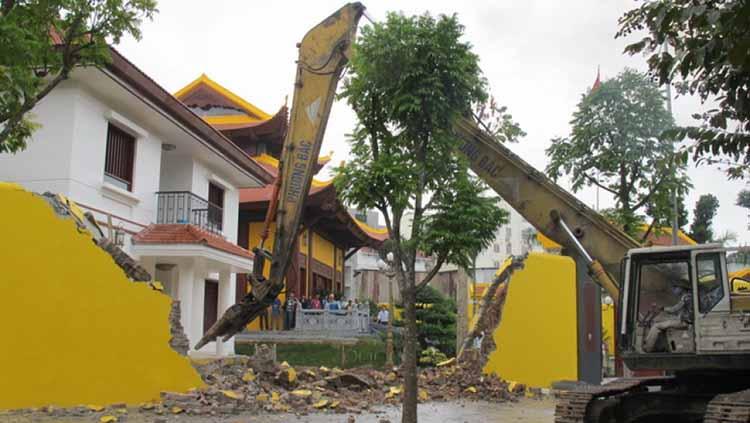 văn khấn phá dỡ nhà