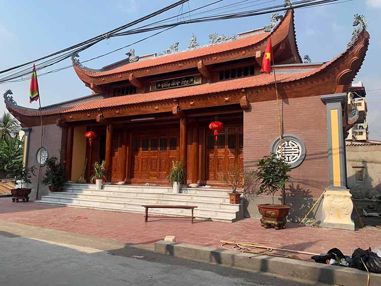 Công trình nhà thờ họ tại Thanh Hóa