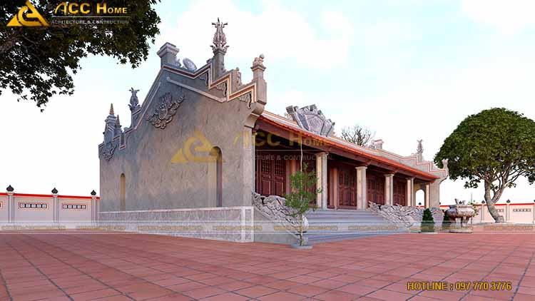 5 gian nhà thờ chính