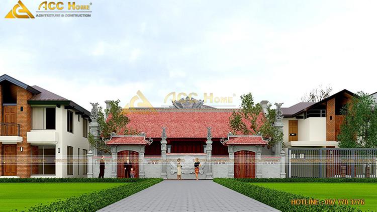 Thông tin mẫu thiết kế nhà thờ tộc tại <b>Thanh Hóa </b>