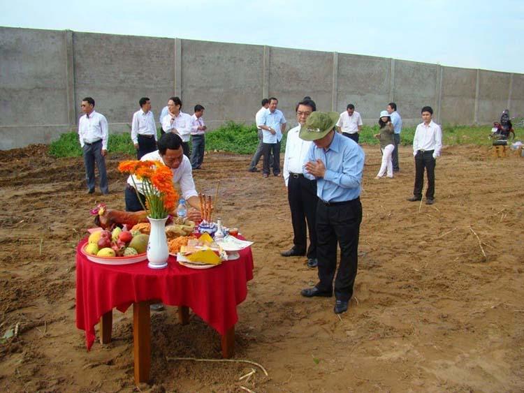 Các bước tổ chức lễ cúng động thổ